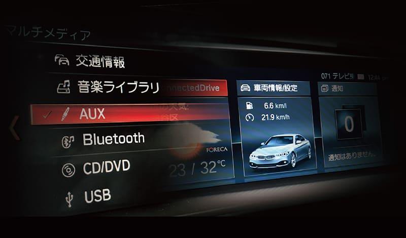 PLUG AUX ! for BMW