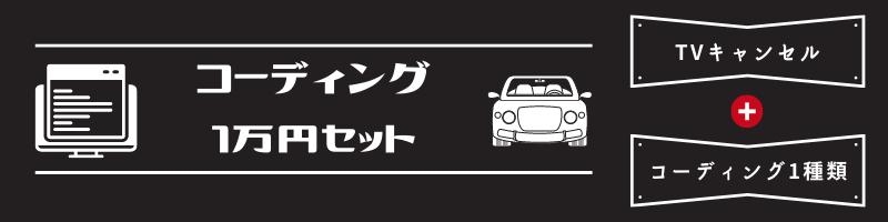 お得なコーディング1万円セット