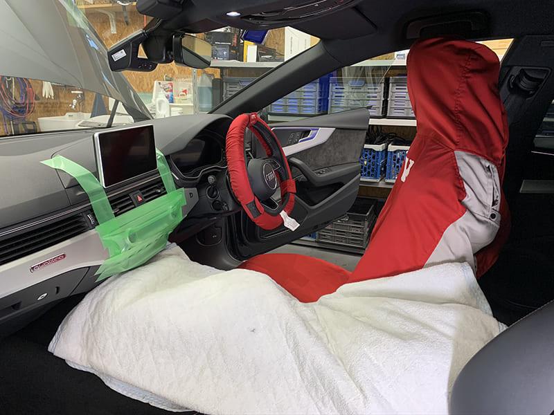 ユーモオートデザインの車両保護