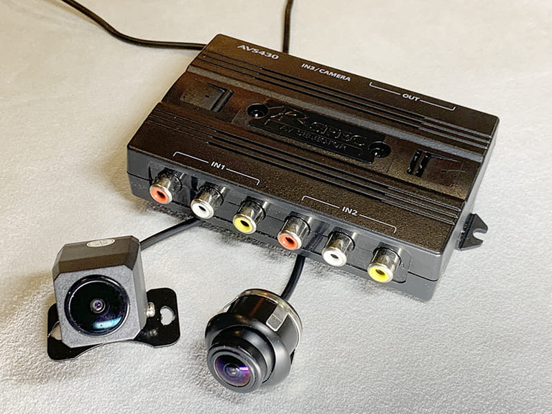 フロントカメラ/サイドカメラ/映像合成モジュール