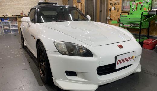ホンダ S2000にカーセキュリティ取付