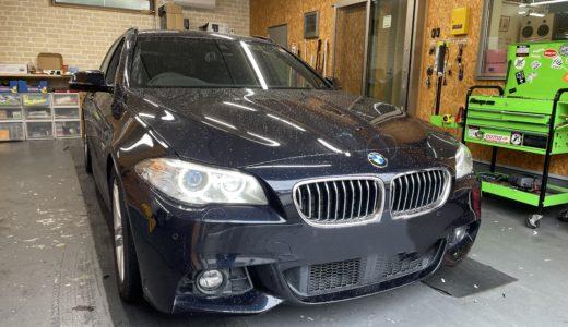 BMW 5シリーズにコーディング&ドラレコ