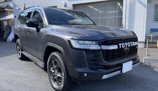 トヨタ ランドクルーザー300系にカーセキュリティ取付しました。